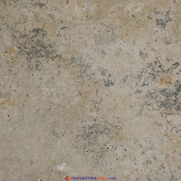 country classic select travertine tile surface with brushed finish and rustic beige dry background