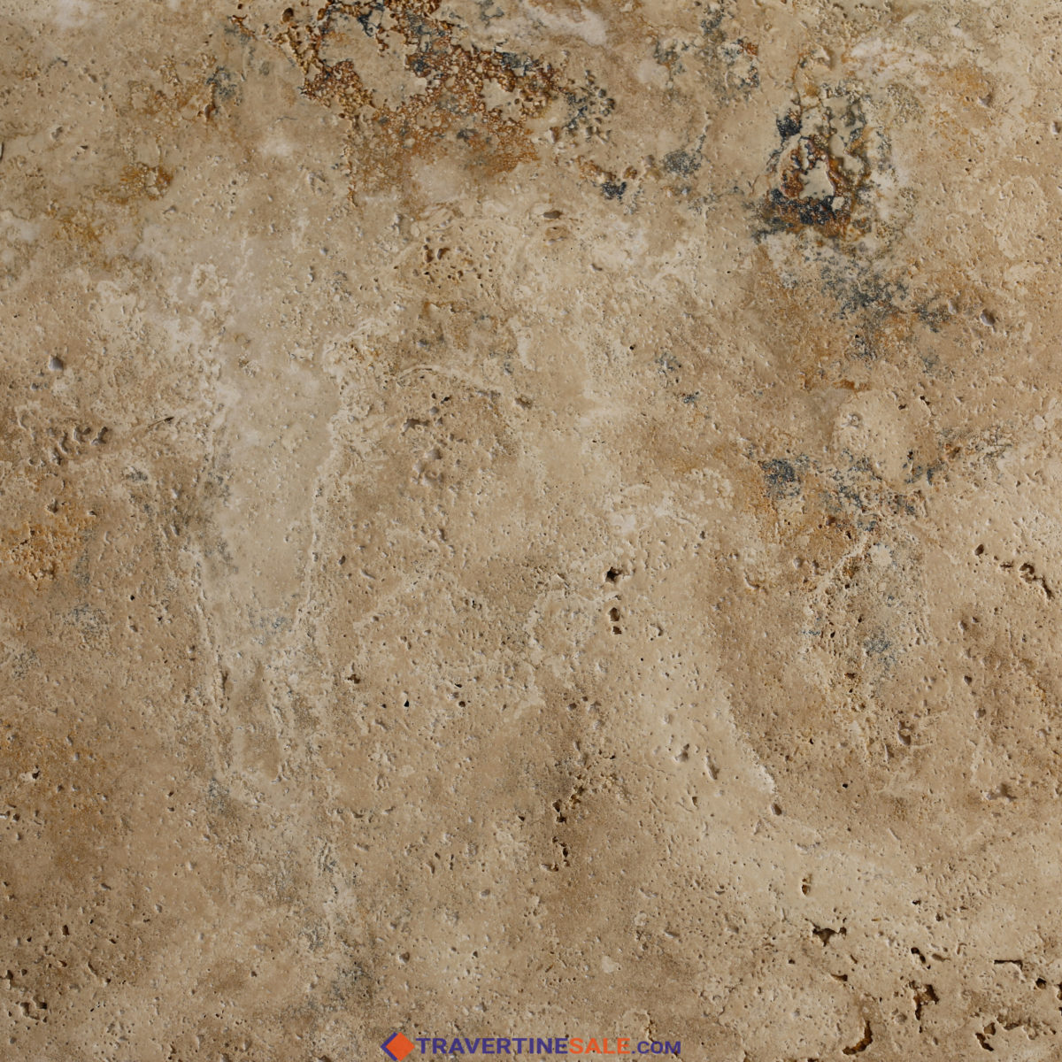 country classic select travertine tile surface with brushed finish and rustic beige wet background