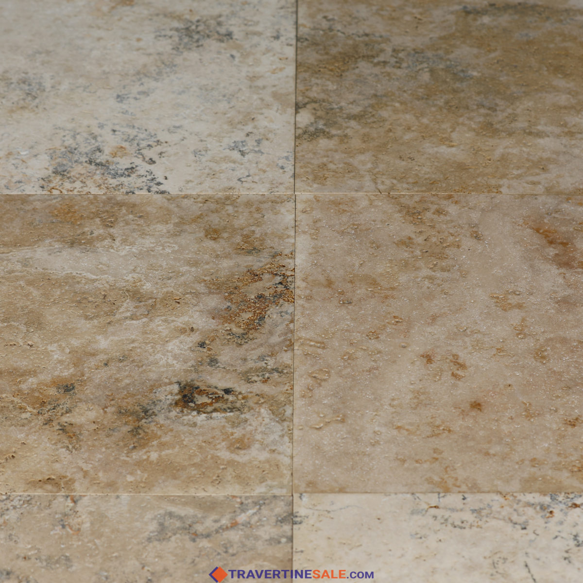 country classic select travertine tiles with brushed finish and rustic beige wet background