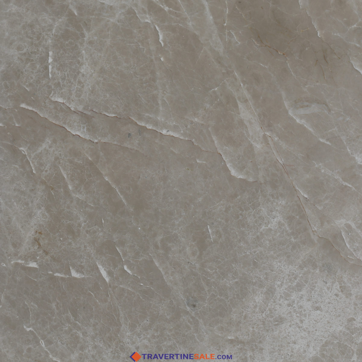 polished montana marble tile surface with beige background and white lines