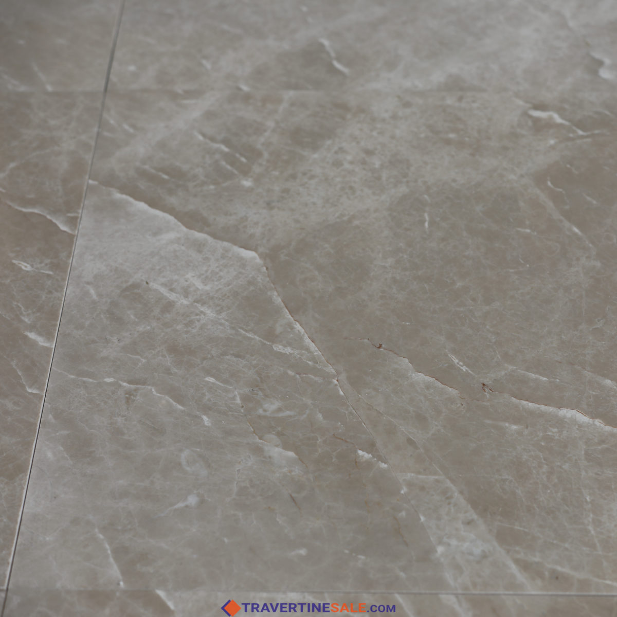 polished montana marble tiles with beige background and white lines surface