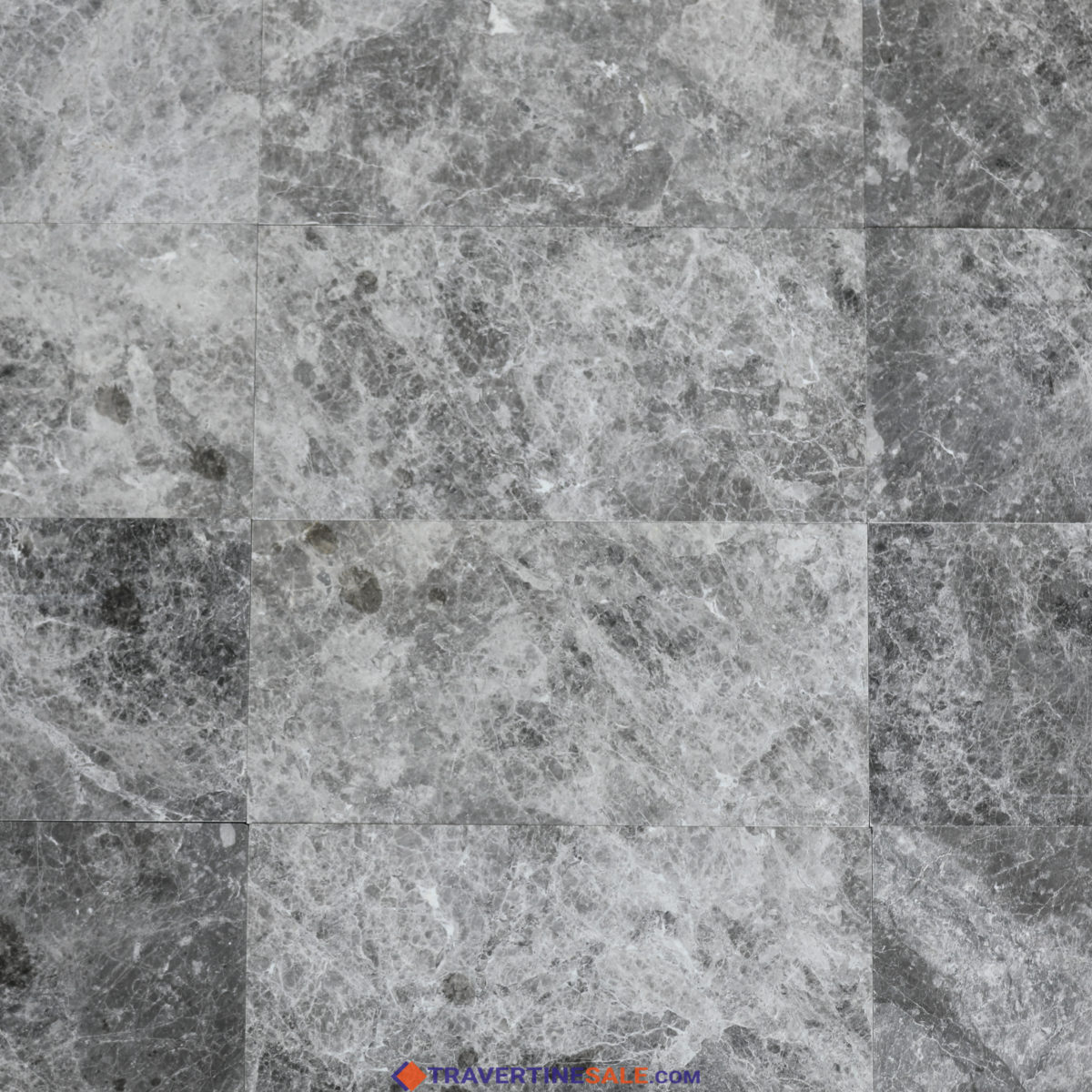 polished silver galaxy marble tiles with gray silver colors