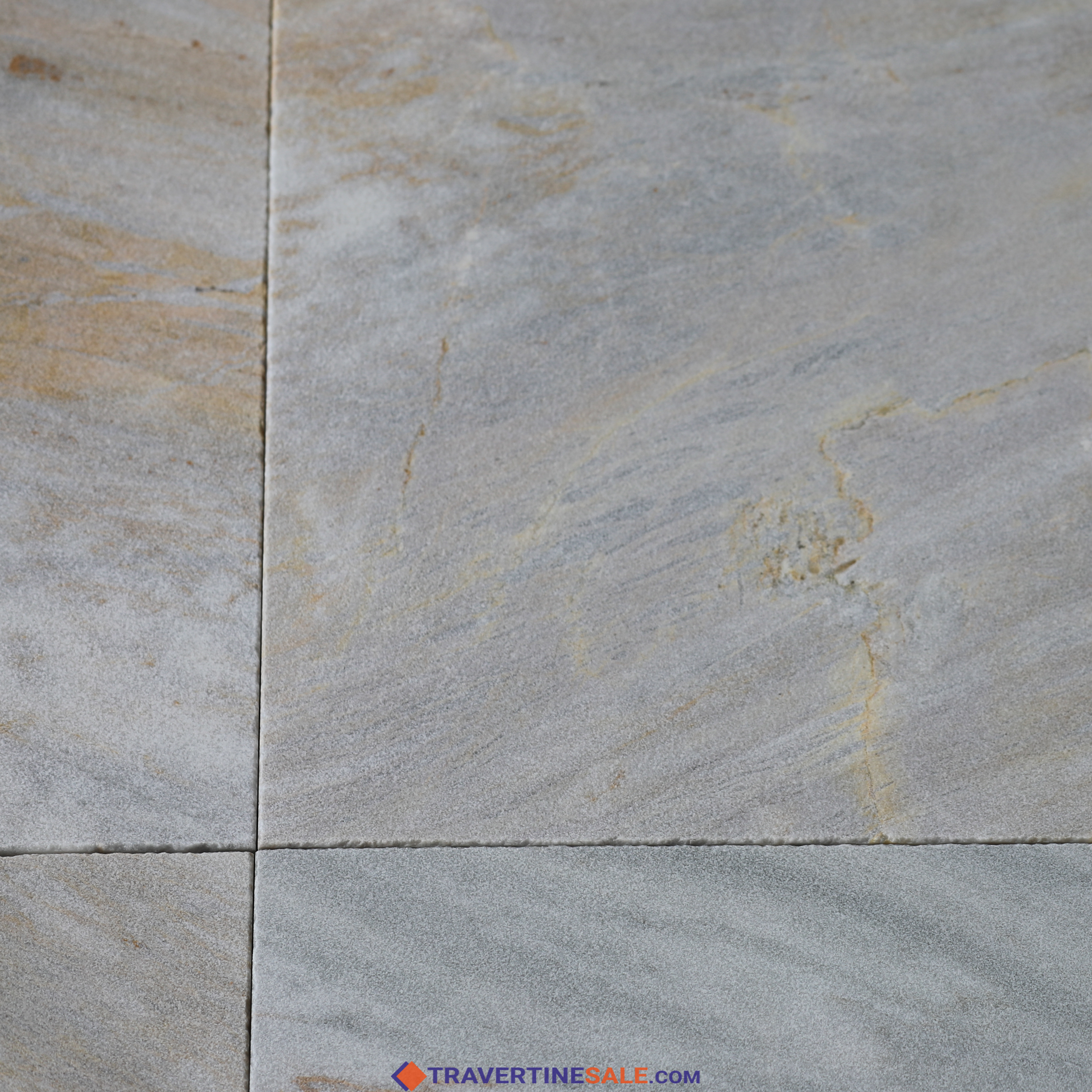 Buy Sandblasted Ice White Gold Marble Paver For 5 89 M2