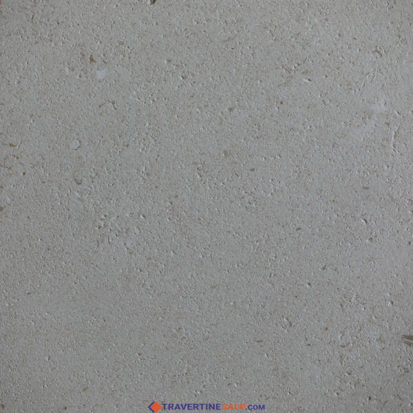 brushed white shell beige limestone tile surface