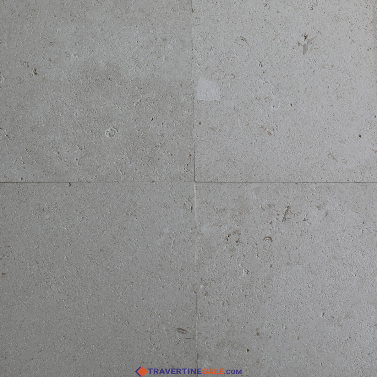 brushed white shell beige limestone tiles with fossils