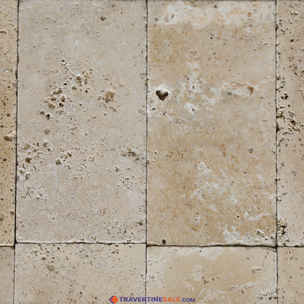 ivory travertine tiles surface with ivory background