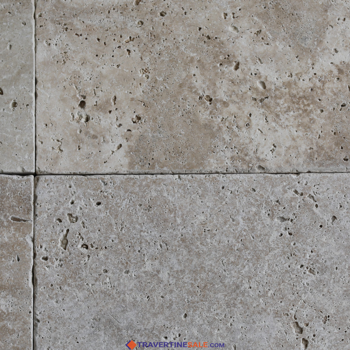 tumbled ivory travertine tiles surface with ivory dry background