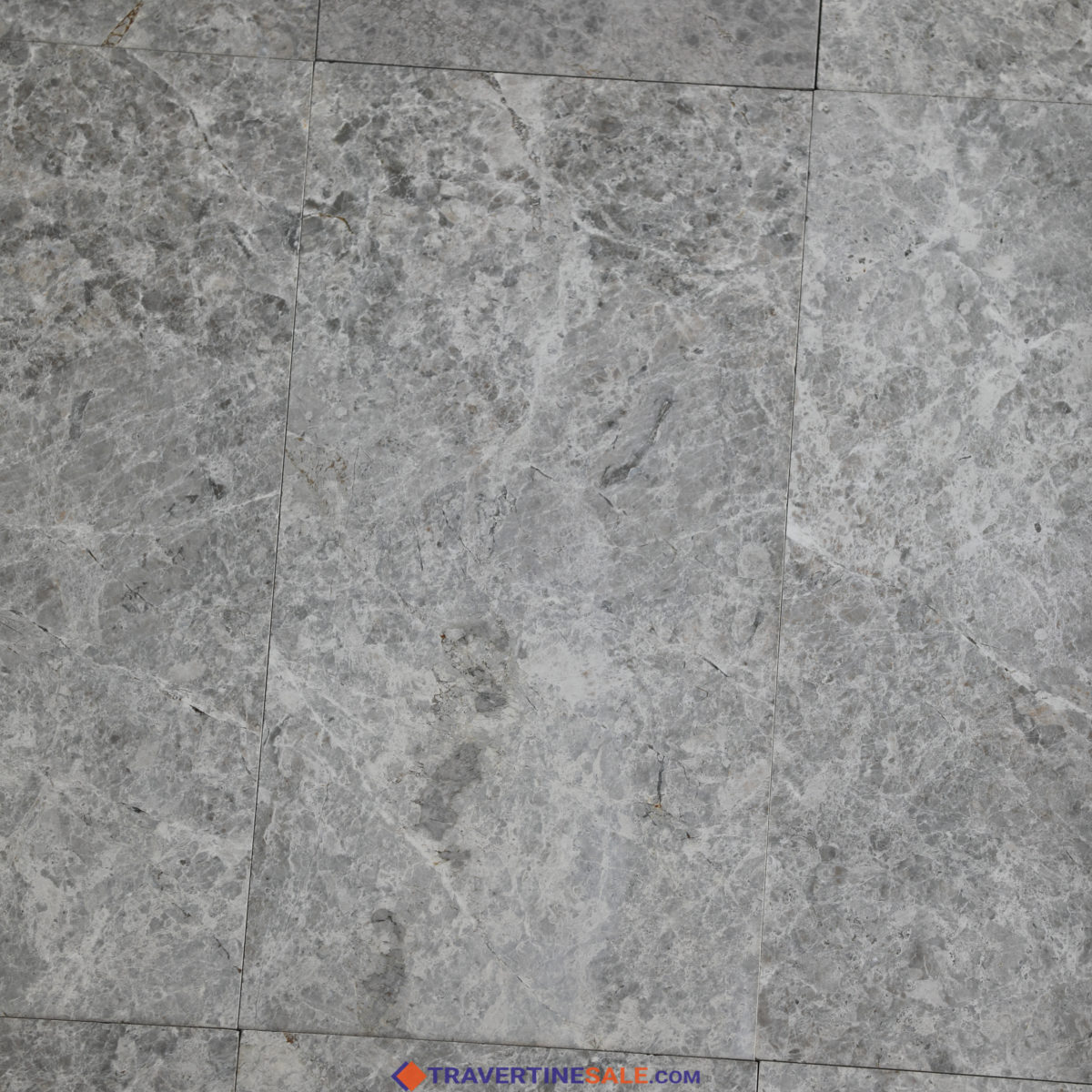 tundra gray marble light polished with grey and silver colors